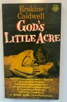1958 Erskine Caldwell GODS Little ACRE Tina Louise  MOVIE TIE SIGNET S581