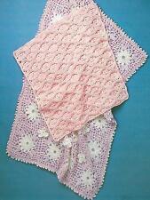 Baby Crochet Pattern Pram Cover Blanket Cot Cover Blanket DK 325