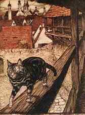 A4 Foto los cuentos de hadas de los hermanos Grimm 1909 2 impreso Poster