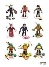 TMNT Teenage Mutant Ninja Turtles Minimates Series 2 Complete Set