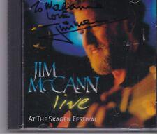 Jim McCann-Live at the Skagen Festival (Live Recording) (CD 2002) signed