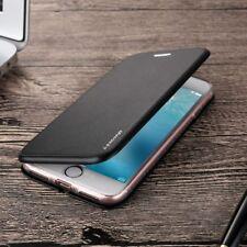 New Antichoc Cuir Flip Portefeuille Stand Coque Etui pour iPhone X 6S 7 8 Plus