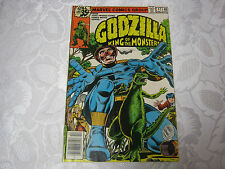 GODZILLA  KING OF THE MONSTERS 1970'S MARVEL MONSTER COMIC  17 DEC T*