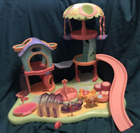 Littlest Pet Shop Playset Whirl Around Playground Playset LPS USED