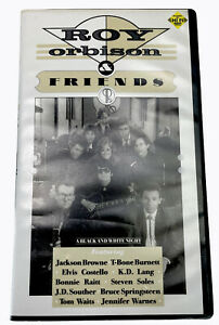 Roy Orbison & Friends a Black and White Night VHS Video Cassette Tape PAL G
