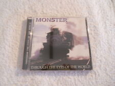 "Monster ""Through the Eyes of the World"" Rare cd Pulse Records Printed in USA NEW"