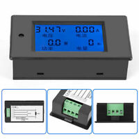 PEACEFAIR PZEM-031 DC 6.5-100V LCD Ammeter Electric Power Energy Voltage Meter