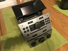VAUXHALL ASTRA H CD30 MP3 RADIO STEREO CD AUX PAIRED DISPLAY & HEATER CONTROLS