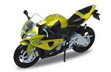 BMW S 1000RR , Welly modelo de motocicleta 1:18 , NUEVO, emb.orig
