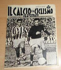 IL CALCIO E IL CICLISMO ILLUSTRATO  N° 10  1963  HERRERA  ORIGINALE  !!!!!