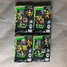 Mega Bloks Construx TMNT Classic Series 4 set Donatello Raphael lot *New Sealed*