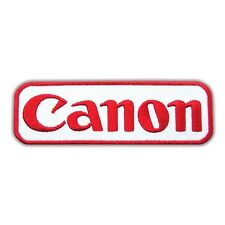 Canon Camera Logo Embroidered Iron On Patch Applique Cap Hat Jacket Bag T Shirt