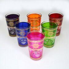 6 Stk. Marokkanische Teegläser Türkische Gläser Orientalische Glas Teetasse