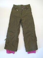 OBERMEYER ALT3 Girls Juniors Green Military Winter Snowboard Ski Malibu Pants 8