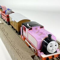 2006 Thomas & Friends TrackMaster Motorized Railway Rosie with Carnival Fun Cars