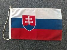 Slovak Republik, vintage Flag of Slovakia, 32 x 19 cm !
