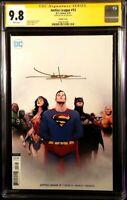 JUSTICE LEAGUE #13 CGC SS 9.8 JAE LEE BATMAN SUPERMAN WONDER WOMAN FLASH AQUAMAN