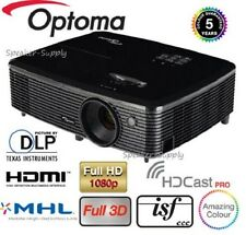 Optoma Wireless HD142X Full 3D DLP Home Theater Projector 1080P HDMI 3000 Lumen