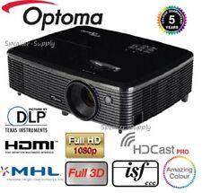 Optoma Wireless HD142X Full 3D DLP Home Theater Projector 1080P HDMI 3000 Lumen