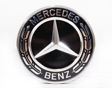Original Mercedes Benz Emblem Motorhaube schwarz SLK 170 auch AMG, A0008171601