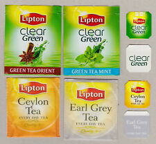 LIPTON TEABAG ENVELOPES AND TAGS COLLECTION 605