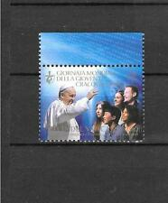 Vatican 2016 Joint Issue with Poland World Youth Day Krakow MNH Stamp