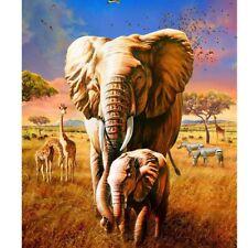 FULL _ DIAMOND _ EMBROIDERY _  CROSS - STITCH _  3D DIAMOND _ ELEPHANTS