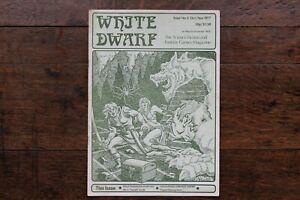 White Dwarf Issue No. 3 Oct 1977 1st Reprint November 1978 WD D&D Rare UK