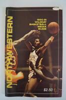 Vintage Basketball Media Press Guide Northwestern University 1980 1981