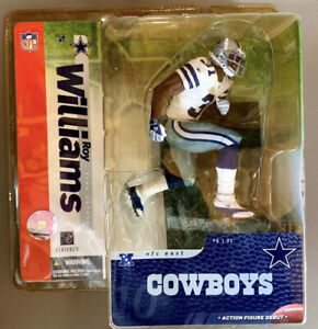 MCFARLANE Action Figure Football Roy Williams Dallas Cowboys