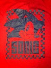 SONIC THE HEDGEHOG Long-Sleeve Shirt Adult XL Sega Genesis