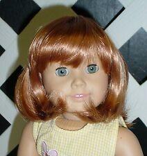 "Doll Wig Monique ""Doris"" Size 14/15 LT GINGER  Fits My Twinn"