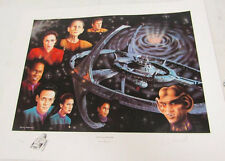 Star Trek The Final Frontier Print by Trevor Horswell. Signed/Numbered 488/850.