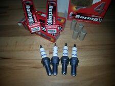4x Brisk AOR10LGS-NC = alto Rendimiento Motor Ciclo Plata Lgs Bujías + BHP