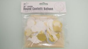 Clear See Through Transparent Bubble Round Circle Balloon Insertable Large Mouth