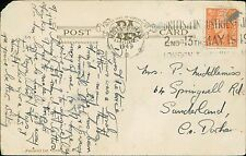 Patrice Middlemiss. 64 Springwell Road, Sunderland. 1949 -    JE.508