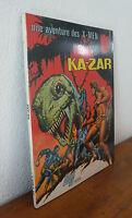 Comics Français  Lug  Une aventure des  X-men     KA-ZAR   1975   Excellent état
