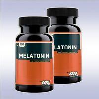 OPTIMUM NUTRITION MELATONIN (2 PACK: 100 TABLETS EACH) 3 mg restful sleeping aid