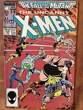 Uncanny X-Men x 2 #219 1987 VFN #225 Jan 1988 GD Chris Claremont Marc Silvestri