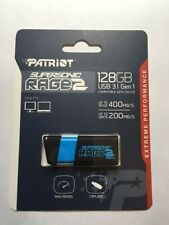 Patriot 128GB Supersonic Rage 2 Series USB 3.0 Flash Drive with Up To 400MB/s...
