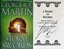 George R.R. Martin~SIGNED~A Storm of Swords~HC~BEAUTIFUL~NEW!!