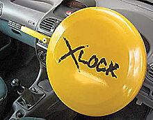 Car security steering wheel lock fullface style anti theft VISUAL DETERRENT van