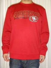 San Francisco 49ers NFL Majestic Mens Therma Base Pullover Sweatshirt Large