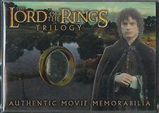El Señor de los Anillos Trilogía Cromado Recuerdos Carta Frodo's Túnica Costura