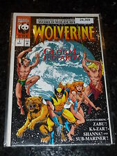 WOLVERINE : GLOBAL JEOPARDY Comic - No 1 - Date 12/1990 - Marvel Comics