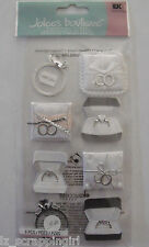 Jolee's Boutique ~ENGAGEMENT RINGS~ Dimensional Stickers; WEDDING Proposal, I DO