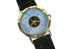 WWII 89th Infantry Commemorative Watch/Rolling W in Center/Major Victories Named