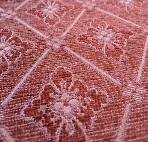 5m MULTIYORK Heavy RUST Upholstery Cushion WOVEN Fabric Material Remnants Piece