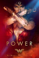 Wonder Woman Movie Poster (24x36) - Gal Gadot, Chris Pine v3