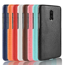 Crocodile leather hard back shell case SKIN cover For OnePlus 2 3 5 6 6T 7 7 Pro